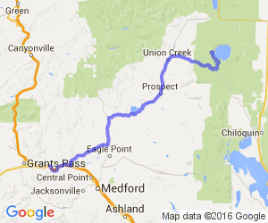 Rogue River City to Crater Lake |  Oregon