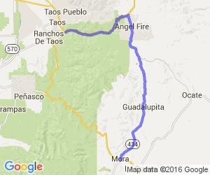 Taos to Mora NM    New Mexico