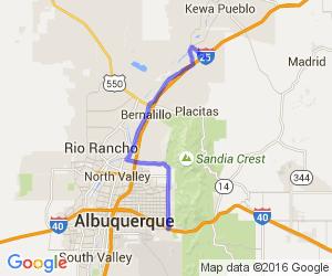 Albuquerque to Casino Hollywood    New Mexico