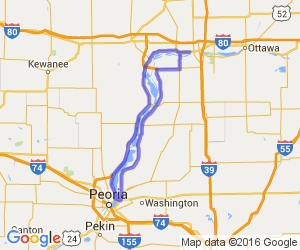 River Loop from Peru to Peoria |  Illinois