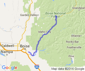 Highway 21 - Boise to Lowman |  Idaho