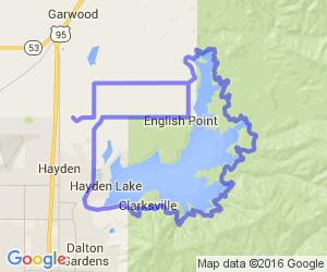 Hayden Lake Rd (near Coeur d'Alene) |  Idaho