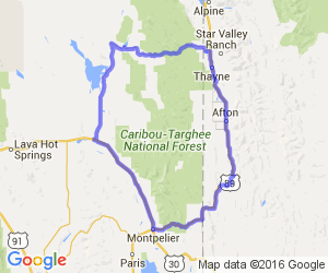The Southern Caribou National Forest Loop |  Wyoming