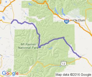 Chinook Pass (Rt 410) |  Washington