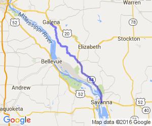 Blackjack Road (Galena to Savanna)    Illinois