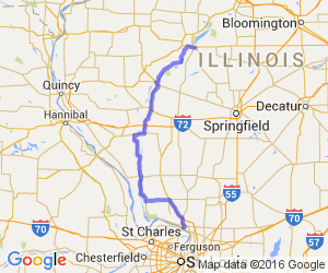 Illinois Ultimate Scenic Rivers Route    Illinois
