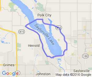 Saylorville Lake Loop |  Iowa