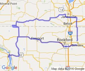 The Three Corners Scenic Loop (Illinois, Wisconsin, Iowa)    Iowa
