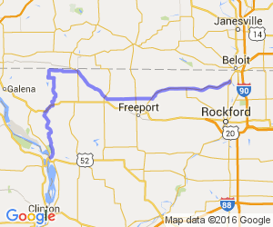 Rockton to Savanna |  Illinois