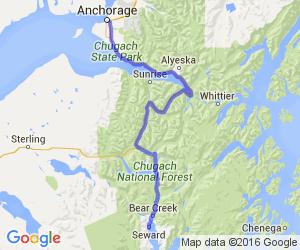 Anchorage to Seward |  Alaska