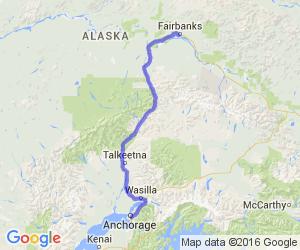 Anchorage to Fairbanks |  Alaska