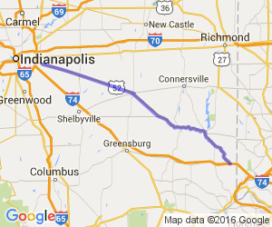 "Indiana 52 - Indy to Cincy ""Plant Run"" 