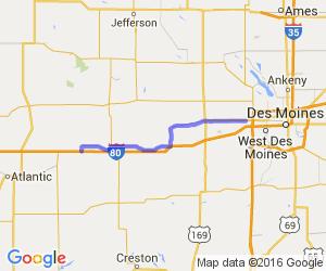 50 Mile White Post Highway Tour    Iowa