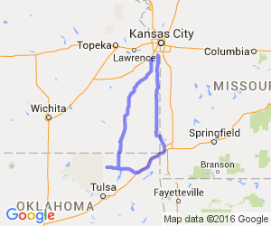 The Southeast Kansas Corner Loop |  Oklahoma