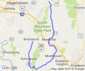 Maryland South Mountain Loop |  Maryland