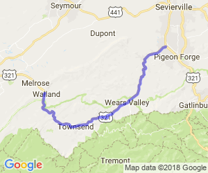 Townsend and Wears Valley Ride |  Tennessee