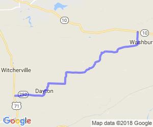 Dayton to Washburn on HWY 252 |  Arkansas