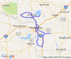 The Southwest Arkansas Notch Loop |  Arkansas