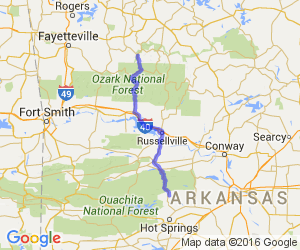 Ozark Highlands Scenic Byway |  Arkansas