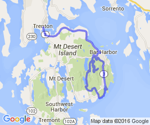 Mount Desert Island Loop |  Maine