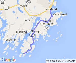 73/131 Rockland - Owls Head - Port Clyde |  Maine