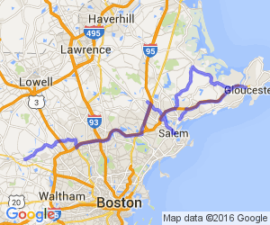 Ride to Salem, Gloucester, and Annisquam Village |  Massachusetts