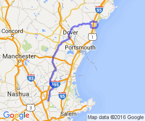 Back roads from Boston to Wells Beach and Ogunquit Maine areas (MA, NH, ME) |  New Hampshire