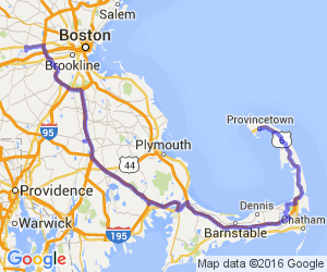 A Sane Route to Cape Cod (from MetroWest Boston) |  Massachusetts
