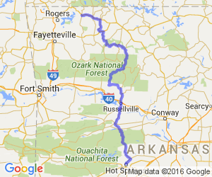 The Scenic Route from Hot Springs to Eureka Springs |  Arkansas