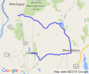 "Shutesbury Area ""S-Curves"" 
