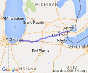 Southern Michigan Tour via Route 12    Michigan
