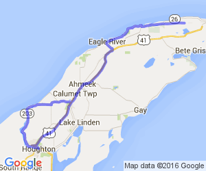 Copper Harbor Run (Keweenaw Peninsula)    Michigan