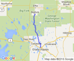 Northwoods Scenic Byway to Scenic State Park |  Minnesota