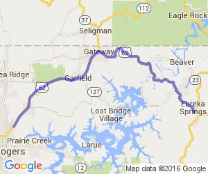 The Northwest Arkansas Tour on Highway 62 |  Arkansas