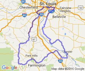 St. Louis / Il Bluffs / MO Mining Country Loop |  Missouri