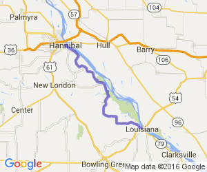 From Hannibal MO to Louisiana MO on 79 |  Missouri