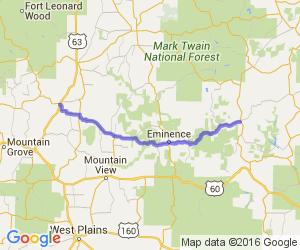 Hwy 106 - Ellington to Houston |  Missouri