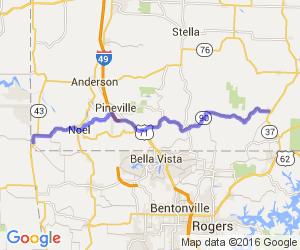Southwest Missouri Corner Run - Hwy 90 |  Missouri
