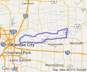 "The ""Big MO"" River Ride Loop |  Missouri"