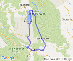 Missoula to Swan River Valley/Flathead Valley and Back |  Montana
