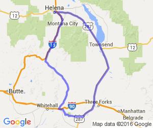 The Lewis and Clark Caverns Run |  Montana
