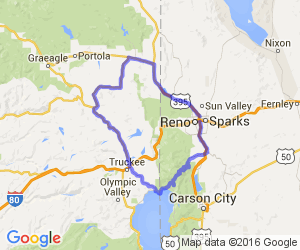 Reno to Lake Tahoe Loop |  Nevada