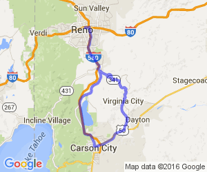 Reno, Virginia City, Carson city Loop |  Nevada