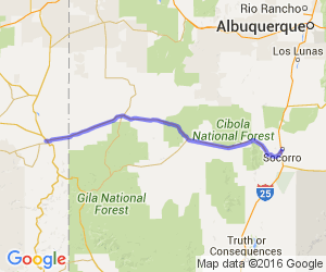 US 60 - Socorro to Springerville    New Mexico