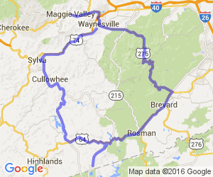 Full Day of North Carolina Twisties Loop |  North Carolina