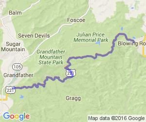 Grandfather Mountain ride (US 221) |  North Carolina