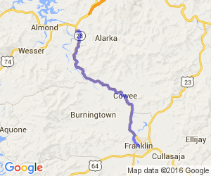 Mountain Meander - Upper Slice of Route 28 |  North Carolina