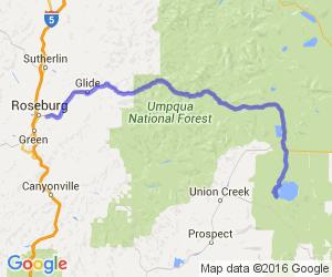 Roseburg to Crater Lake on Wonderful 138    Oregon
