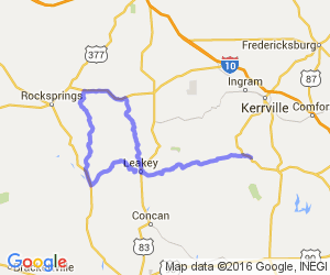The Three Sisters (AKA The Twisted Sisters)- Ranch Roads 335, 336,337a |  Texas