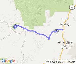 Utah's Route 95 |  Utah